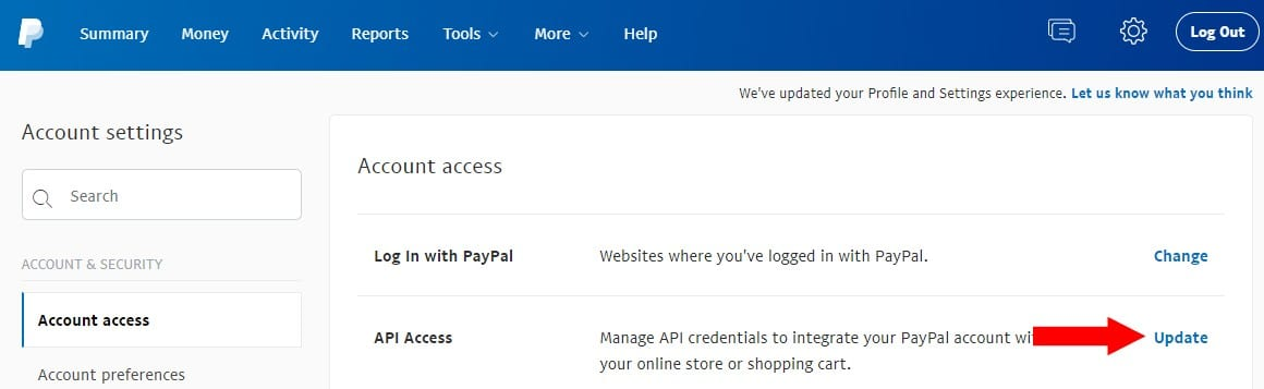 Configuring PayPal for your Storefront