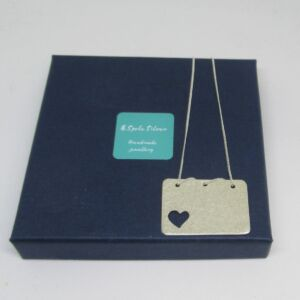 Love Letters Pendant in Sterling Silver