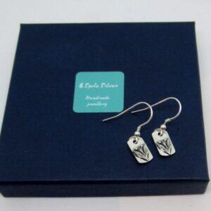 Sterling Silver New Shoots Earrings