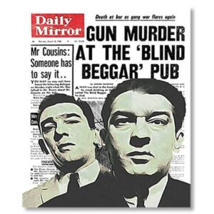 Krays News Print - Unframed