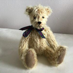 Newton blonde mohair teddy bear