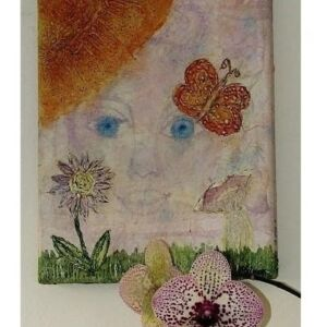 Mystical Fairy - Mixed Media Canvas Art