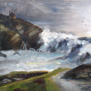 Original Oil Painting - 'Cadgwith Cove, Cornwall'