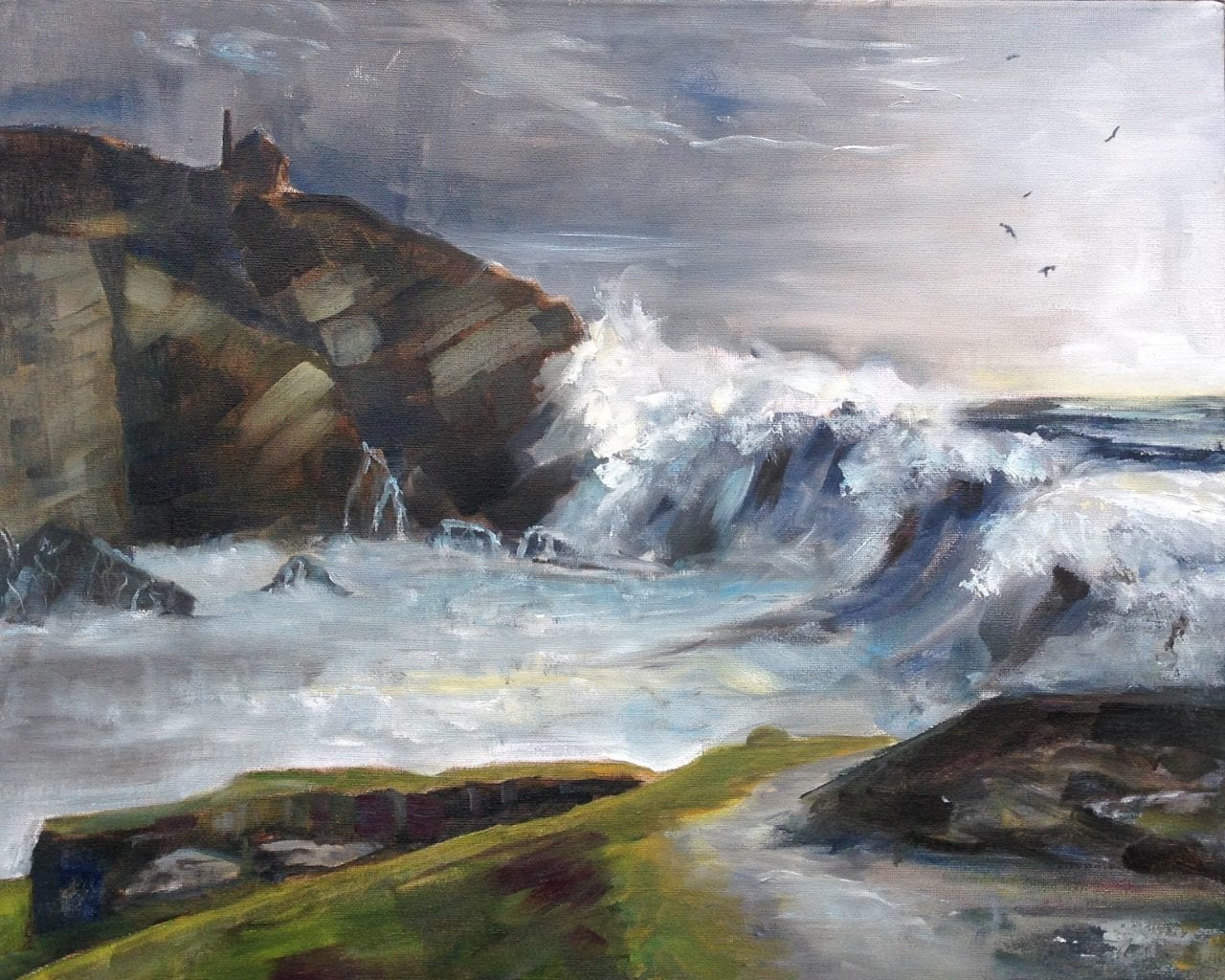 Jane Powell Art - Land and Seascapes