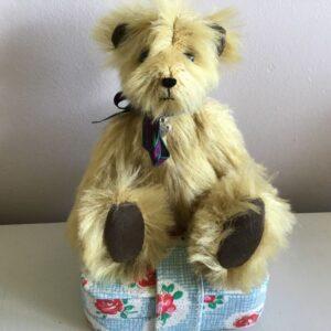 Patrick golden mohair teddy bear
