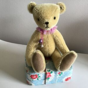 Barley 3mm dense mohair teddy bear