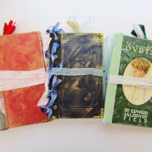 Fairy Themed Junk Journals/ Altered Books - 3 Designs