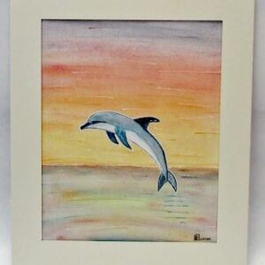 Original Watercolour - Mount Framed: Soar