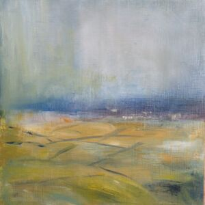 'Misty Malvern View 3 - Rain Showers'