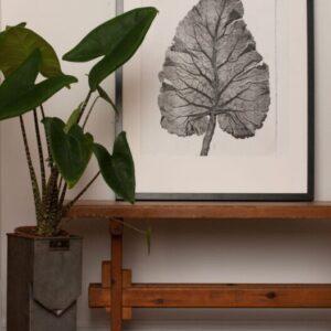 Burdock Leaf Art Print No. 4