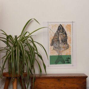 Tetra Fish Art Print