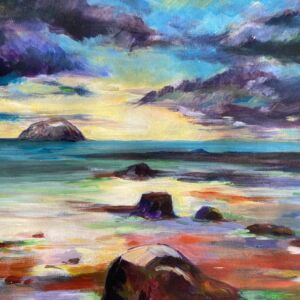 Ailsa Craig scotland fine art print only