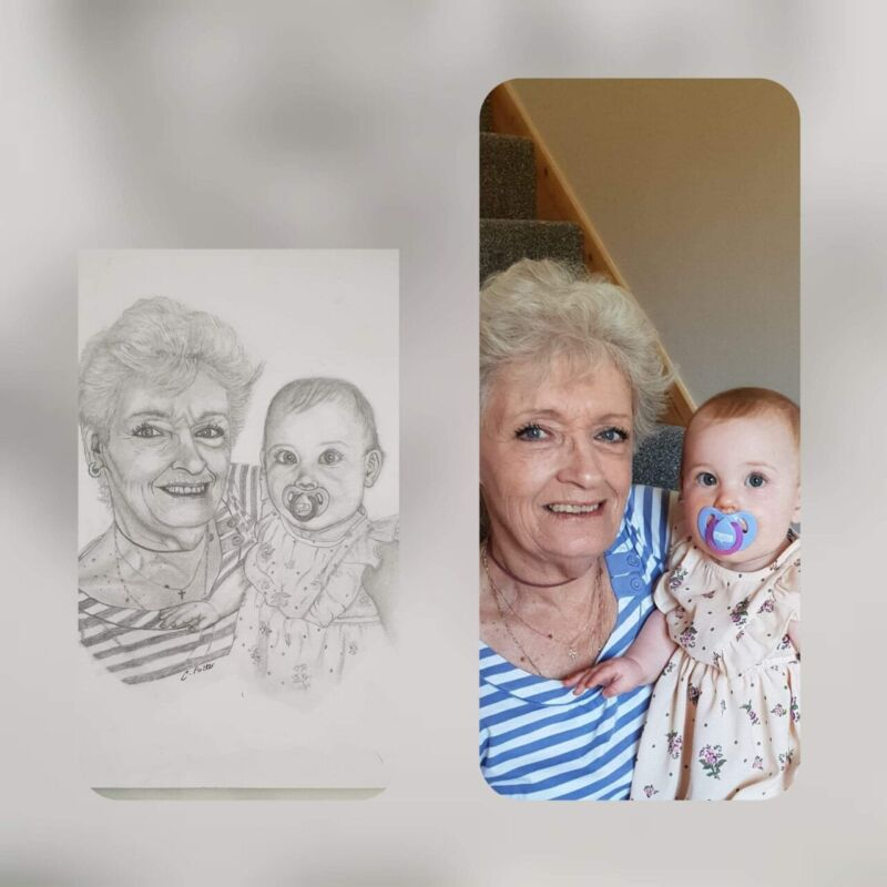 Potters portraits and paintings