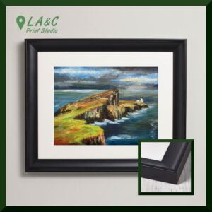 Neist Point Skye fine art framed print