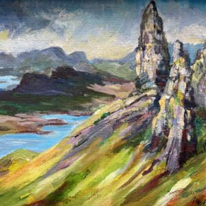 The Storr Skye fine art print