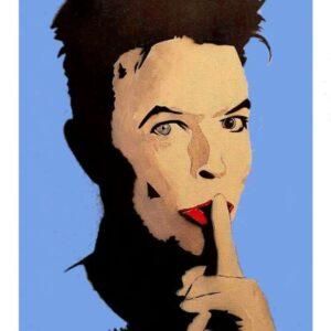 David Bowie fine art poster print