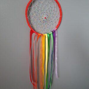 Handmade Rainbow Rhinestone Dreamcatcher - Wall Hanging - Boys Girls - Nursery Decor