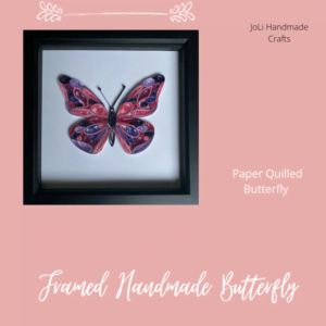 Handmade Butterfly Picture | Paper Quilling Art