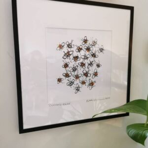 Limited Edition Bumble Bees Print