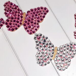 Diamonte embellished Butterflies