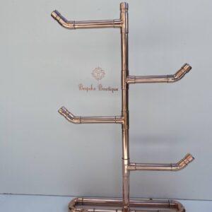 Beautiful copper jewellery stand / tree