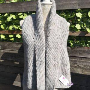 Handmade Unisex Chunky Knit Scarf