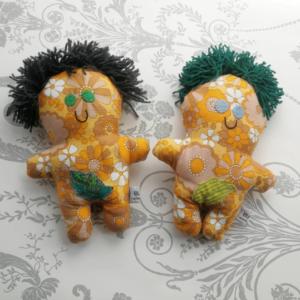 Couple dolls. Adam and Steve gay wedding dolls