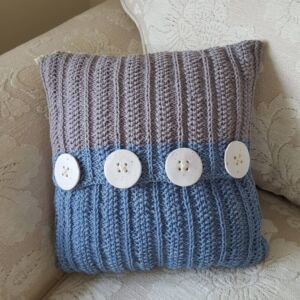 Textured Wool Cushion Cover