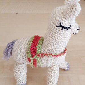 Pretty Crochet Llama