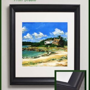 Rockcliffe Dumfries and Galloway | Scotland Landscape Hand painted acrylic art print