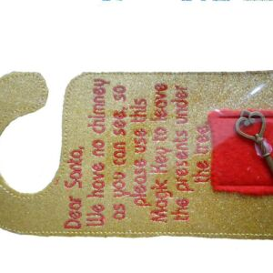 Santa's magic key door swinger