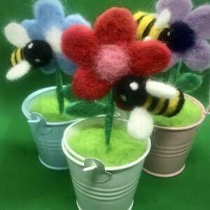 Buzzy Bee needle felt