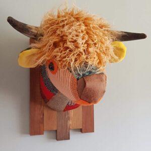 Textile Highland Cow