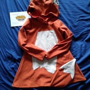 Fox dress/tunic 3-5yrs