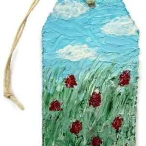 Poppy Fields - Collection of Art in Miniature