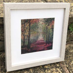 Framed print Lickey Woods