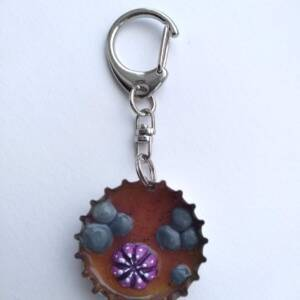 Habit-Cap Bottle Cap Key Ring – Rockpool Sea Urchin