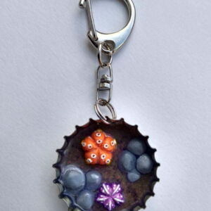 Habit-Cap Bottle Cap Key Ring – Rockpool Sea Urchin