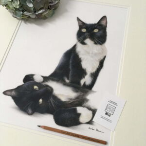 Gift Voucher for Pet Portrait - Double Portrait