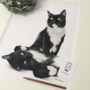 Commission Slot for Pet Portrait - Double Portrait