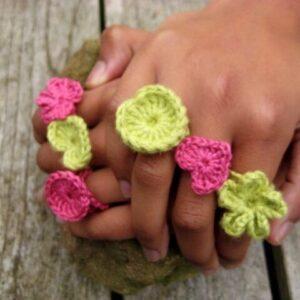 Crocheted Loop Style Rings