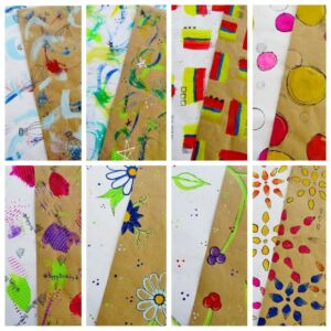 Handmade Wrapping Paper (all occasions)