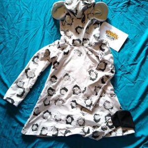 Snow leopard dress/tunic