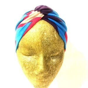 Handmade Twist Turban Headband Headwrap Ear Warmer, Wide Band Soft Stretch Fabric