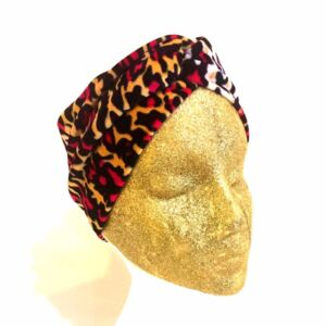 Handmade Twist Turban Headband Headwrap Ear Warmer, Wide Band Soft Stretch Velvet Fabric