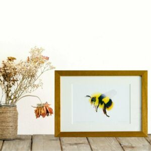 Bee giclee print by Alan Taylor Art