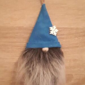 Bell Button Gnome Blue