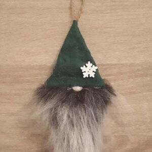 Bell Button Gnome Green