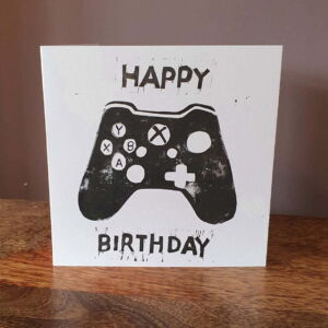Original Hand Printed Xbox Card