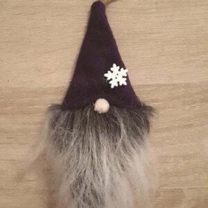 Bell Button Gnome Purple